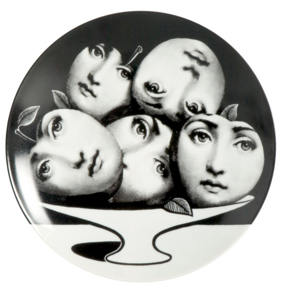 Fornasetti Wall Plate T&V 104 - Milk Concept Boutique