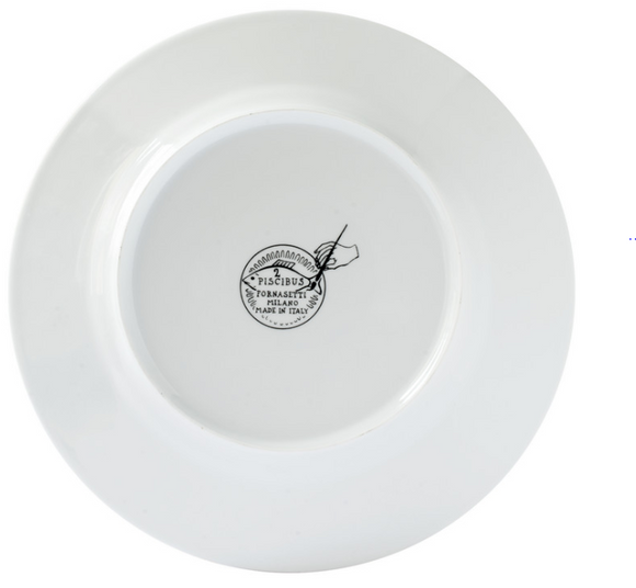 Fornasetti Plate from the set Piscibus n°3 colour - Milk Concept Boutique