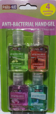 Para-Aid hand sanitizer, with Aloe & Vit. E (Pocket size)