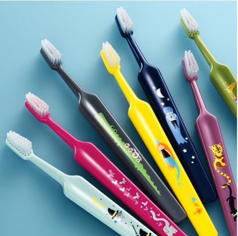 Tepe Kids Brush (3-12 yo) exclusive designs, 1pc (plastic pack); BUY 3 PC GET 1 PC FREE, whike stocks last!