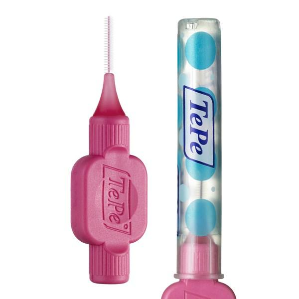Tepe Interdental Brushes PINK / wire 0.4 mm, 25pc/pk  >>> 4PK FOR $99 ONLY (100pc) <<<