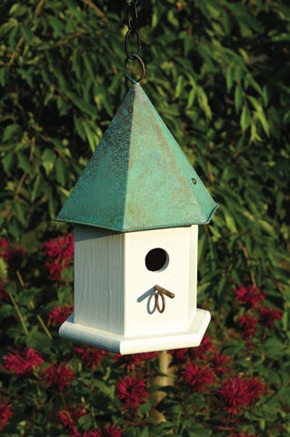 Heartwood 015 Copper Songbird House