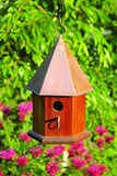 Heartwood Copper Songbird House