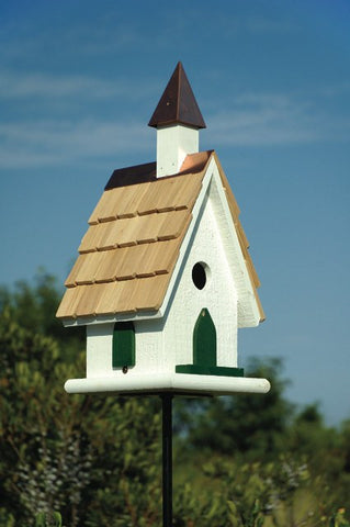Heartwood 021B Country Wildwood Church Bird House