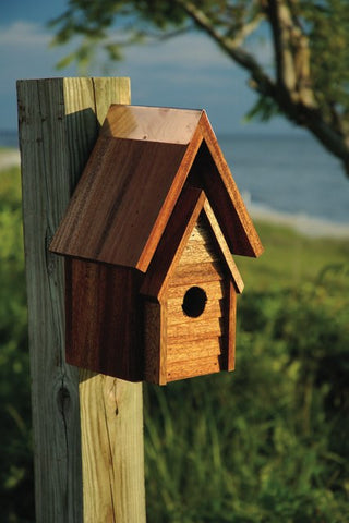 Heartwood Wrental Bird House at www.wildbirdstoreonline.com