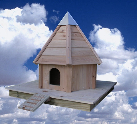 Heartwood Aqua Duck - Floating Pond Duck House