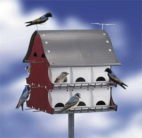 S&K 16 Family Purple Martin Barn BH16