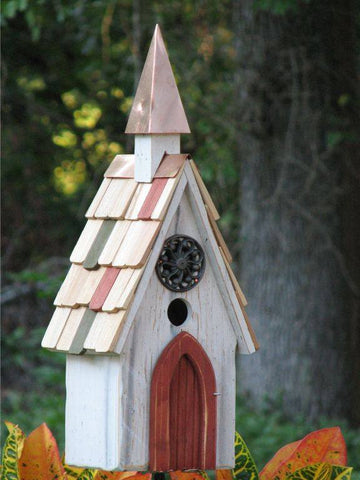 church style bird house