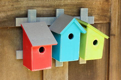 Trellis Trio - 3 Pack Bird Houses