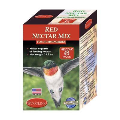 Red Hummingbird Nectar - Large