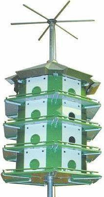 Nature House Purple Martin Castle System