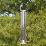 Woodlink Brushed Copper 6-Port Thistle Bird Feeder