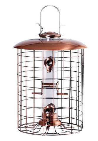 Woodlink Squirrel Proof Caged Feeder