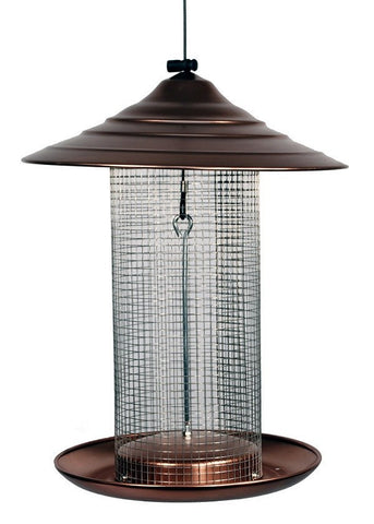 Woodlink Copper Bird Feeder - Sunflower