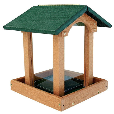 Recycled Gazebo Bird Feeder