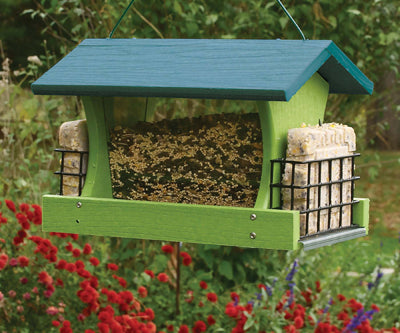 Woodlink Recycled Large Seed and Suet Feeder