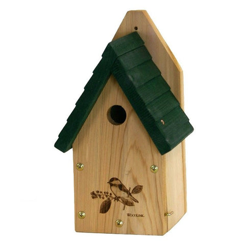 Woodlink Wren or Chickadee Nest Box