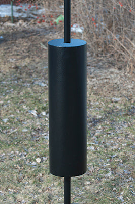 racoon baffle for bird feeder