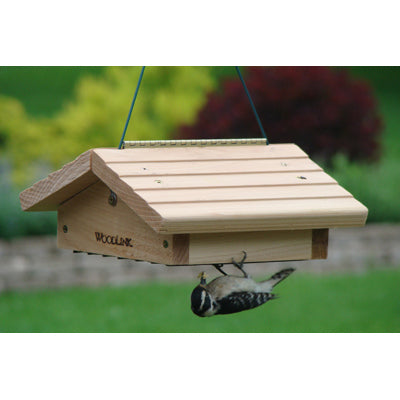 upside down double cake suet feeder