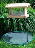 The Seed Hoop - Seed Catcher and Platform Bird Feeder
