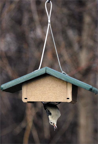 Birds Choice Recycled Single Cake Upside Down Suet Feeder