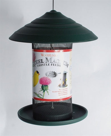 Woodlink Steel Magnum Thistle Bird Feeder