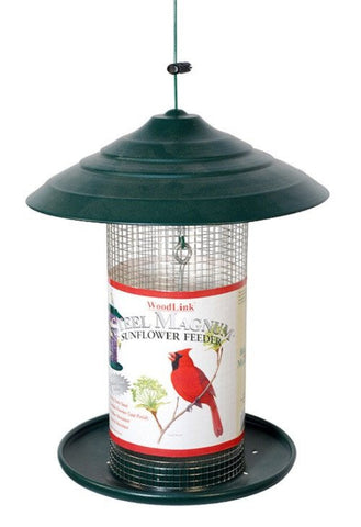 Woodlink Steel Magnum Sunflower Bird Feeder