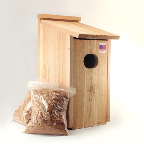 Woodlink Cedar Wood Duck House
