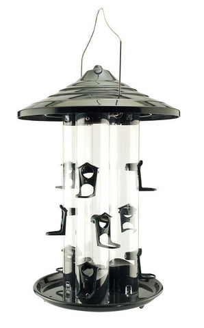 Woodlink Triple Seed Tube Bird Feeder