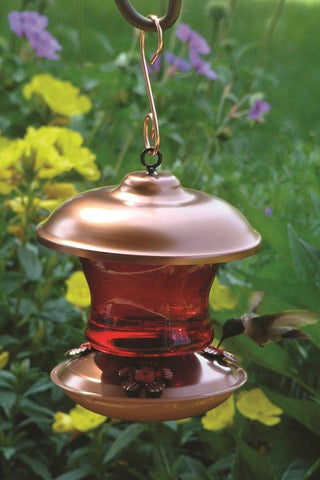 Woodlink Coppertop Hummingbird Feeder