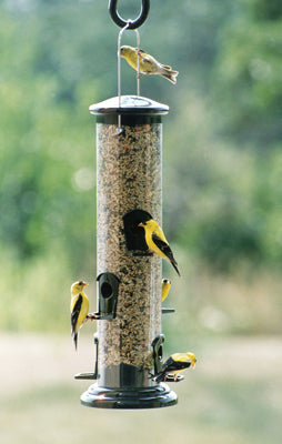 woodlink mega tube seed bird feeder
