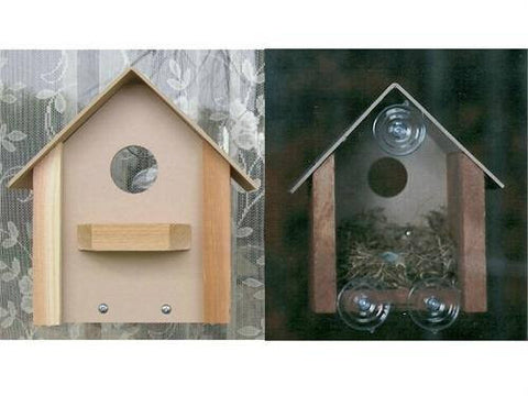Looker Window Bird House at www.wildbirdstoreonline.com