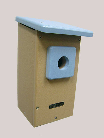 "Birds Choice Recycled Western Bluebird House (1-9/16"" Hole)"