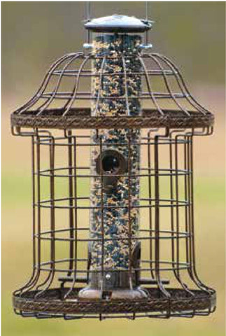 Woodlink Designer Caged Tube Bird Feeder