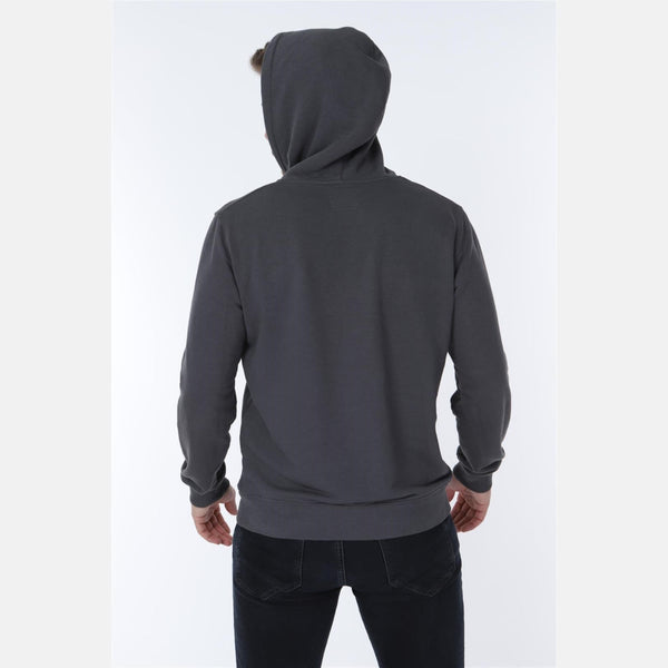 Grey Camden Town Printed Cotton Hoodie - S-Ponder Shop