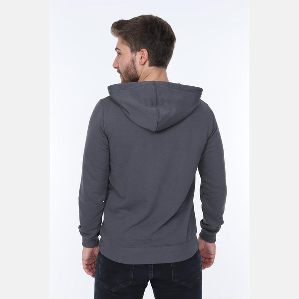 Grey London Printed Cotton Hoodie - S-Ponder Shop