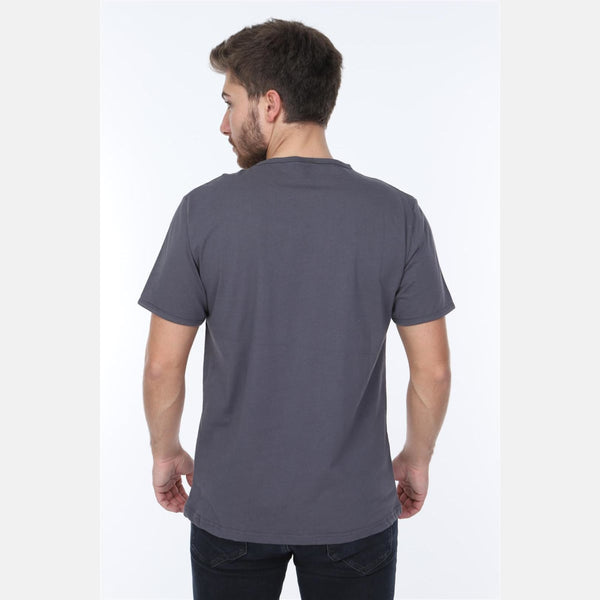 Grey Technology Nostalgia Printed Cotton Men T-Shirt - S-Ponder Shop