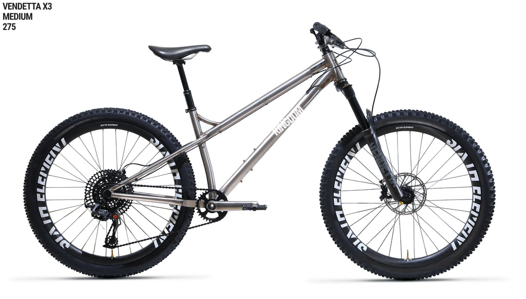 All the usual Vendetta X-series features that make this undoubtedly the best ti hardtail on the market