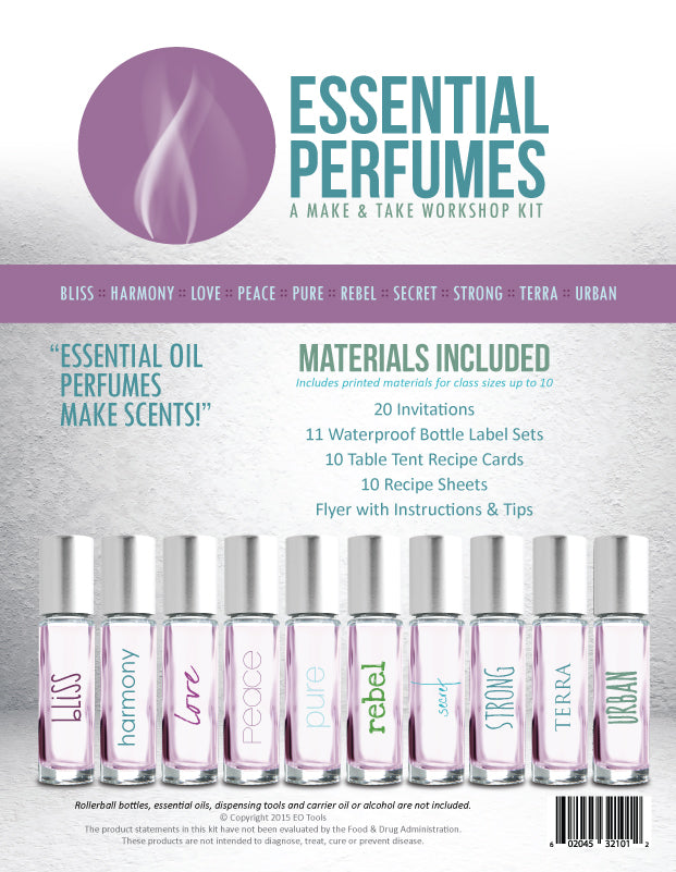 Essential Perfumes Make & Take Workshop Kit