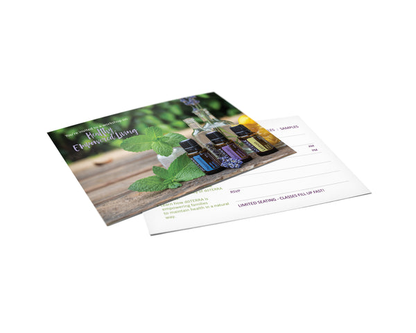 doTERRA Healthy Empowered Living Invitations - US, AU, CA, EU