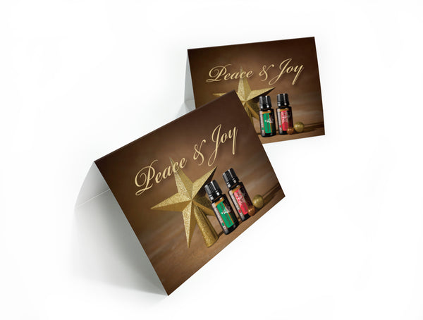 doTERRA Peace & Joy Holiday Note Card