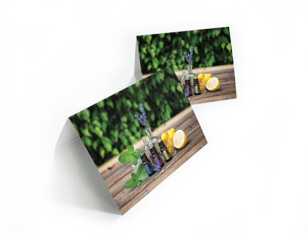 doTERRA Trio Note Card