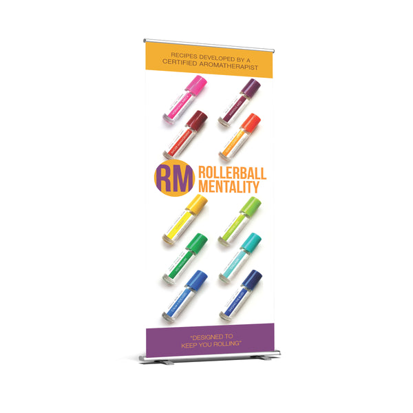 Rollerball Mentality Retractable Premium Banner Artwork