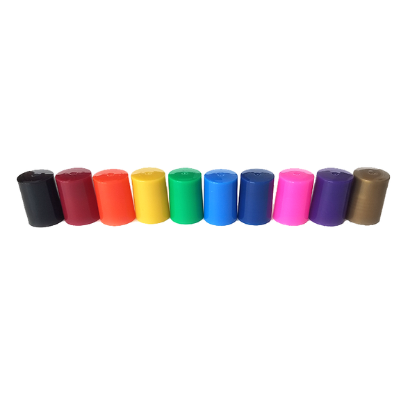 Chakra Color Rollerball Lids (Qty 10)