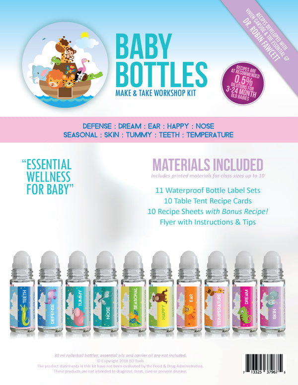 Baby Bottles Make & Take Workshop Kit