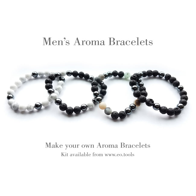 Aroma Bracelet Make & Take Workshop Kit - Amazonite