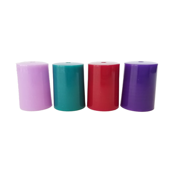Young Living Colored Rollerball Lids (Qty 4)
