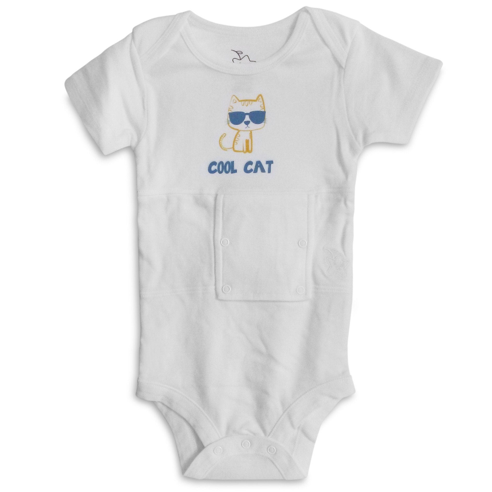 Cool-Cat Feeding Tube Onesie
