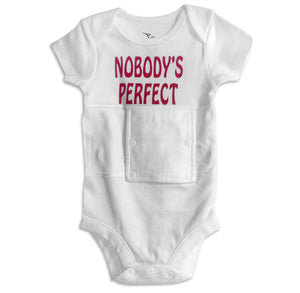 Nobody's Perfect Feeding Tube Onesie