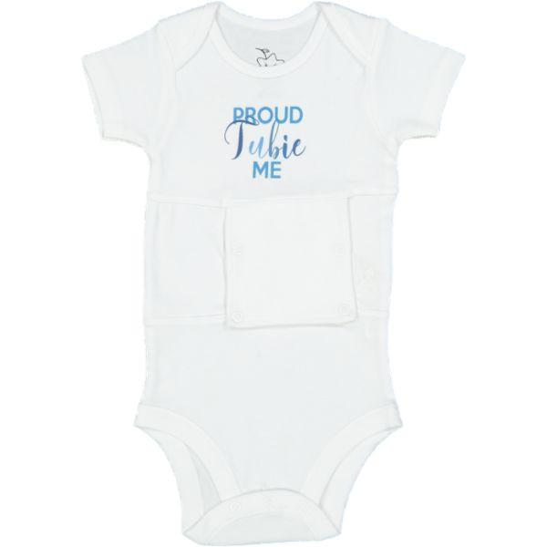 PROUD TUBIE ME (boys) Feeding Tube Onesie